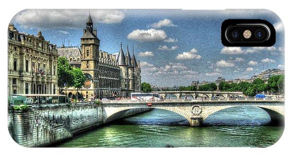 She iPhone Case - i love Paris by Yury Bashkin