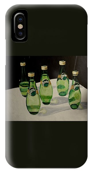 I Love Perrier IPhone Case