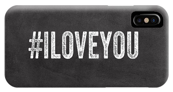 Office iPhone Case - I Love You - Greeting Card by Linda Woods
