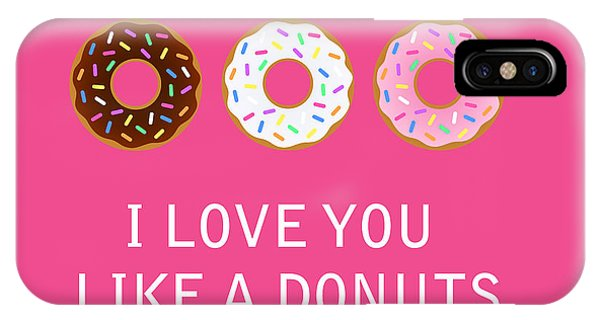 Valentines Day iPhone Case - I Love You 7 by Mark Ashkenazi