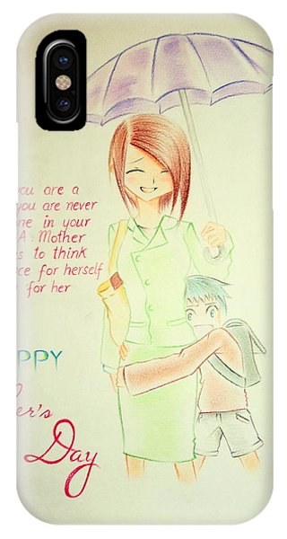 Mother's Day- I Love U Mom Phone Case by Tanmay Singh