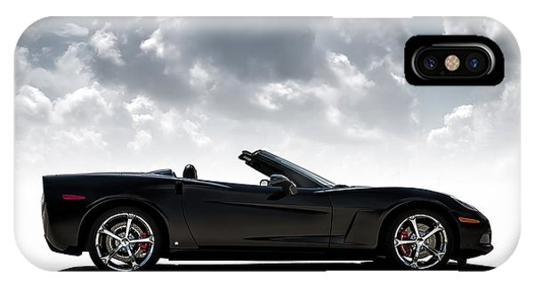 Chevrolet iPhone Case - I Take Mine Black by Douglas Pittman