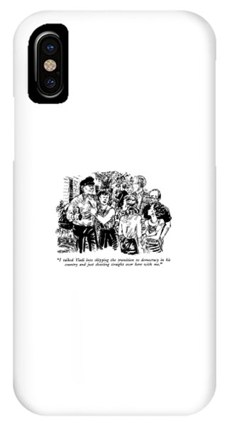 I Talked Vladi Into Skipping The Transition IPhone Case