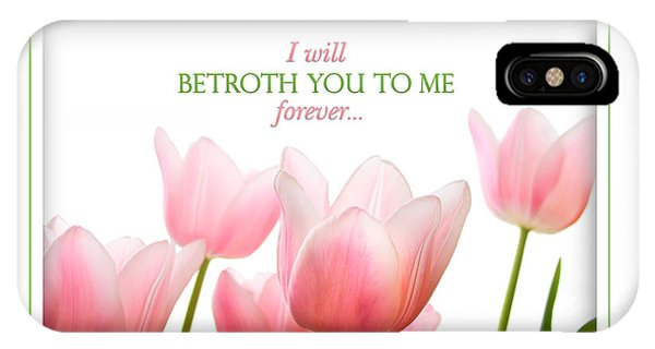 I Will Betroth You IPhone Case