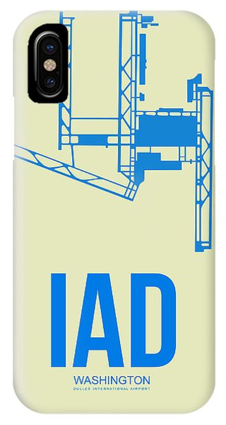Iad Washington Airport Poster 1 IPhone Case