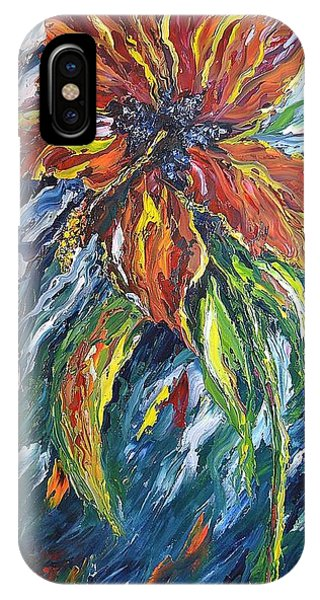 Ibiscus Fire And Ice IPhone Case