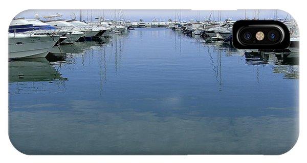 Ibiza Harbour IPhone Case