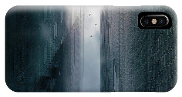 Facade iPhone Case - Icarus by Keisuke Ikeda @