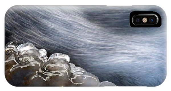 Flow iPhone Case - Ice & Water by Vito Miribung