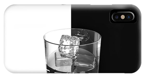 Whiskey iPhone Case - Ice And Wine by Antonyus Bunjamin (abe)