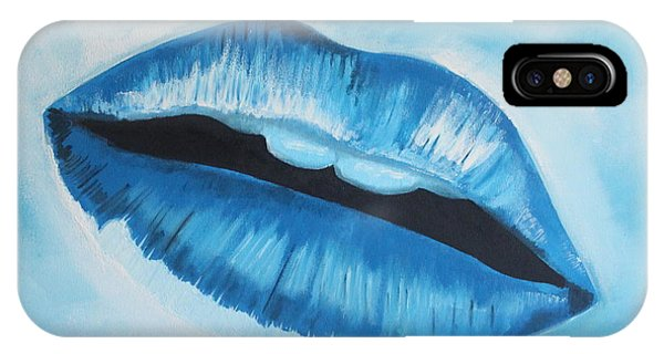 Ice iPhone Case - Ice Cold Lips by Paul Horton