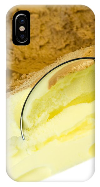 Frozen Food iPhone Case - Ice Cream by Modern Abstract