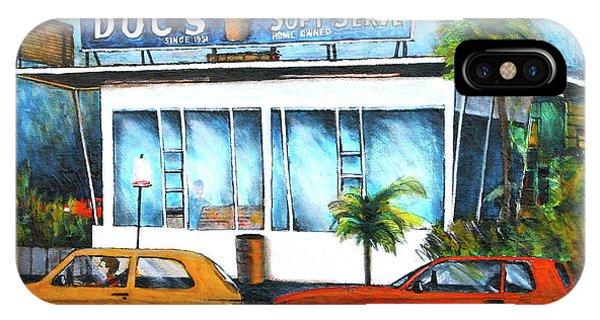Ice Cream Restaurant In Delray Beach Fl IPhone Case