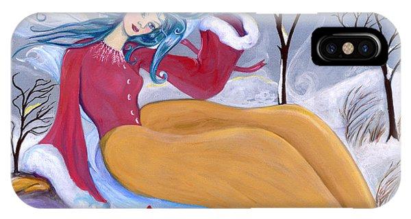 Ice Fairy IPhone Case