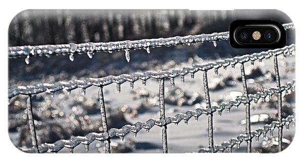 Ice Fence IPhone Case