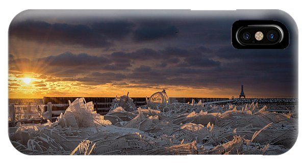 Ice Fields IPhone Case