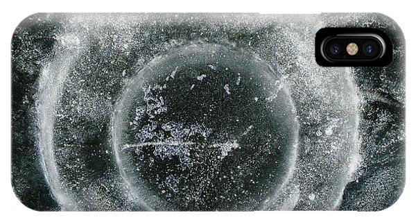 Ice Fishing Hole 19 IPhone Case