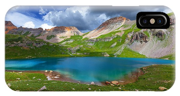 Ice Lake Afternoon IPhone Case