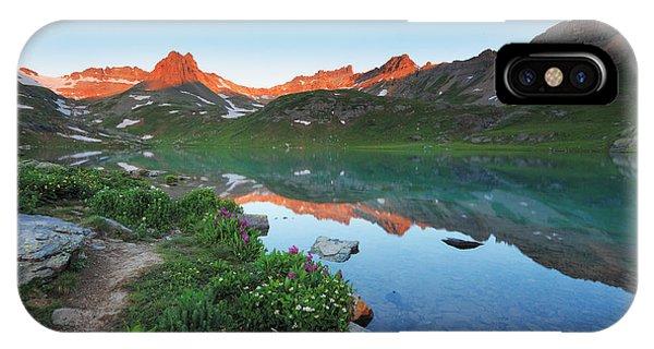 Ice Lake Sunrise IPhone Case