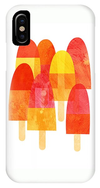 Ice Cream iPhone Case - Ice Lollies by Nic Squirrell