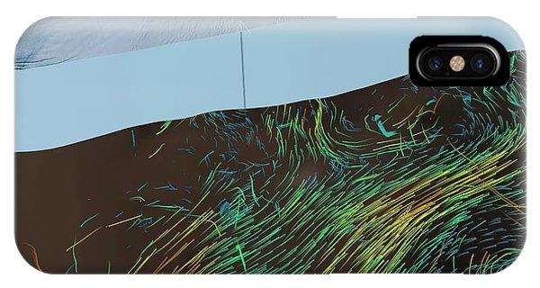 Glacier Bay iPhone Case - Ice Shelf Ocean Currents by Nasa/goddard Space Flight Center Scientific Visualization Studio