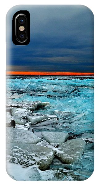 Ice Storm # 7 - Battery Bay - Kingston - Canada IPhone Case