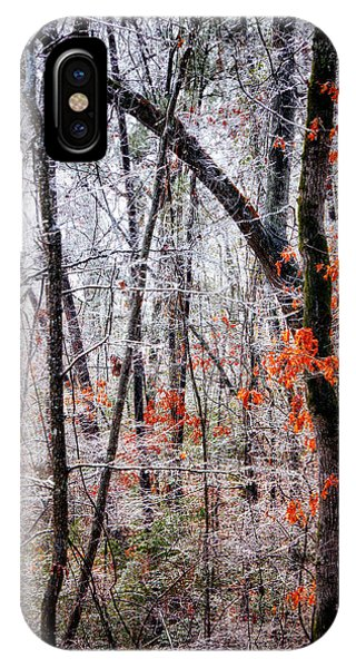 Ice Trees IPhone Case