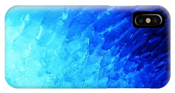 Ice Wave Phone Case by Christian Rooney