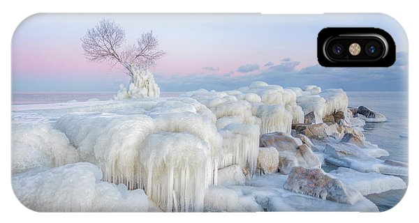 Frost iPhone Case - Ice Wonderland by Larry Deng