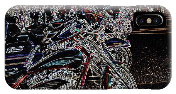 Iced Out Bikes IPhone Case