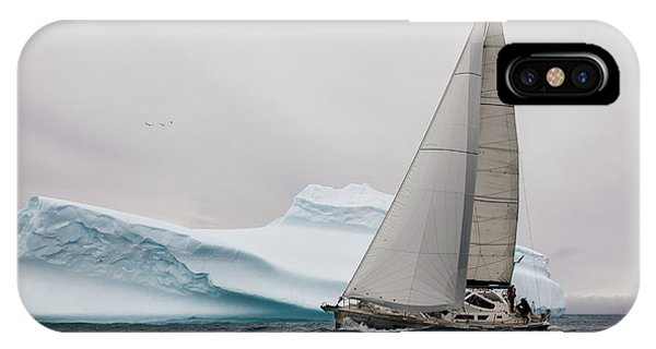 Navigation iPhone Case - Iced by Simon Delvoye