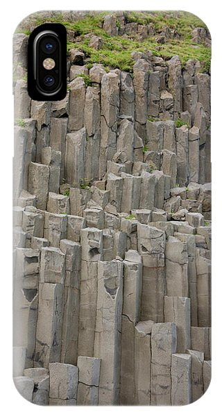 Basalt iPhone Case - Iceland Columnar Basalt Formation by Jaynes Gallery