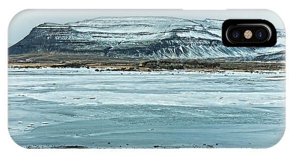 Icelandic Winter Landscape IPhone Case