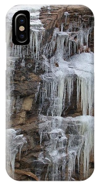 Icicle Cliffs IPhone Case