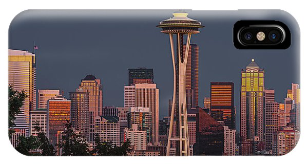 Iconic Needle IPhone Case