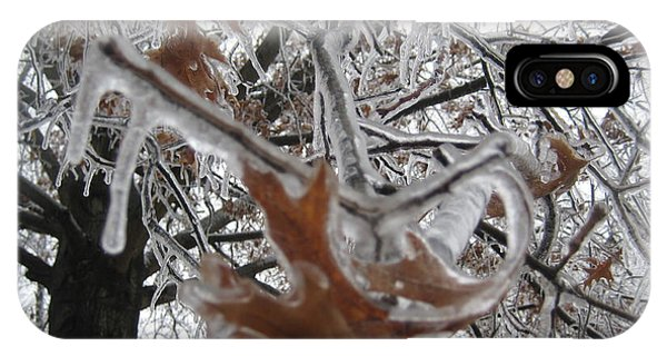 Icy Beckoning IPhone Case