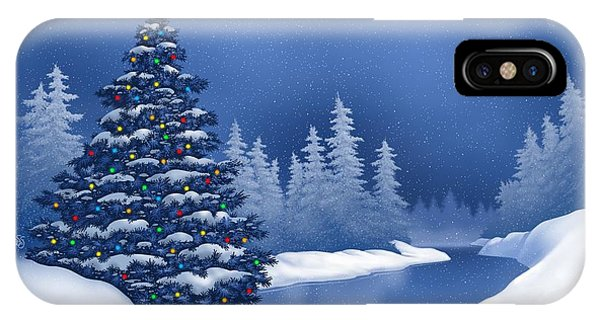 Icy Blue IPhone Case