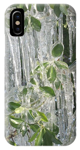 Icy Green IPhone Case