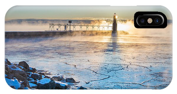 Icy Morning Mist IPhone Case