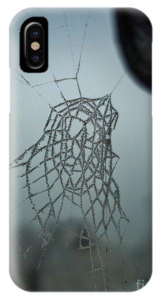Icy Spiderweb IPhone Case