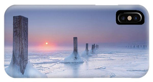 Icy Phone Case by Ulrike Eisenmann