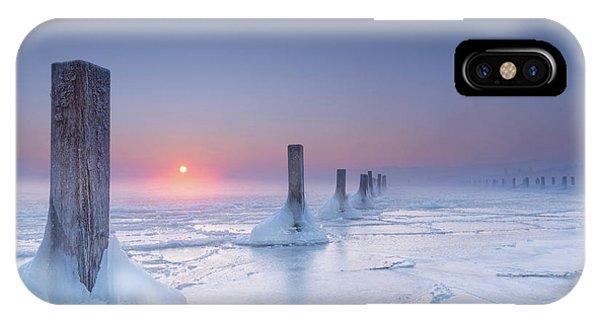 Mist iPhone Case - Icy by Ulrike Eisenmann