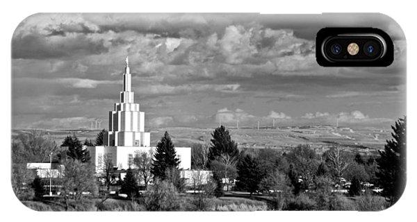 Idaho Falls Temple IPhone Case