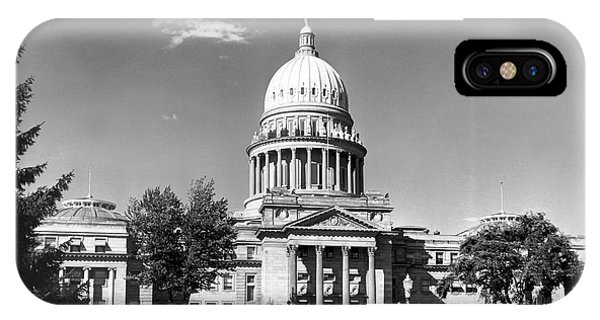 Capitol Building iPhone Case - Idaho State Capitol Building by Underwood Archives
