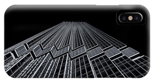 Ids Tower Minneapolis  Mono IPhone Case