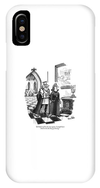 If I Had It All IPhone Case