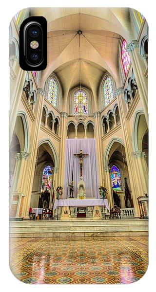Iglesia De San Isidro De Coronado In Costa Rica Vertical IPhone Case