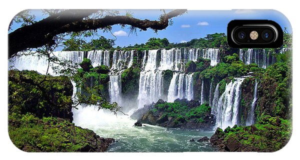 Iguazu Falls In Argentina IPhone Case