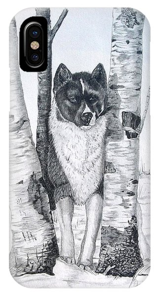 Ihasa In The Woods IPhone Case