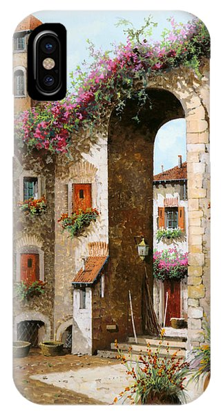 Arched iPhone Case - Il Campanile by Guido Borelli